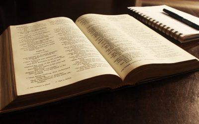 Vue panoramique de la Bible