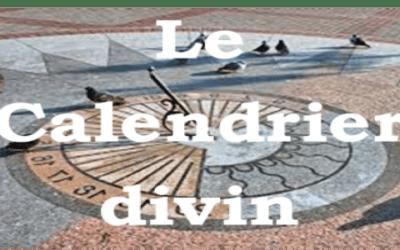 Le calendrier divin